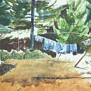 Mt. Barnabe Wash Art Print