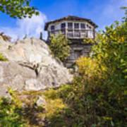 Mt. Cammerer Observation Tower Art Print