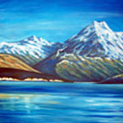 Mt Cook New Zealand Art Print