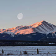 Mt. Elbert Sunrise Art Print