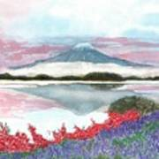 Mt. Fuji Morning Art Print