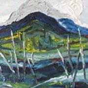 Mt Gosford Art Print