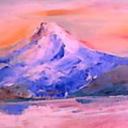 Mt Hood 04 Art Print