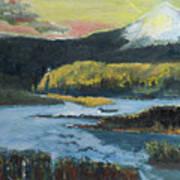 Mt Hood Dazzle Art Print