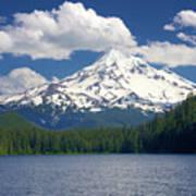 Mt Hood From Lost Lake Art Print