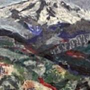 Mt. Hood From Lost Lake Butte Art Print