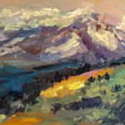 Mt Hood View From Chinook Landing Art Print