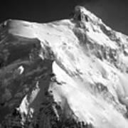 Mt Hunter Summit Art Print