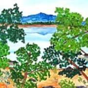 Mt. Katahdin  Art Print