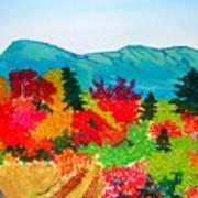 Mt. Katahdin Maine Art Print