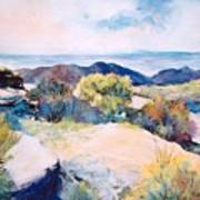 Mt Lemmon View Art Print