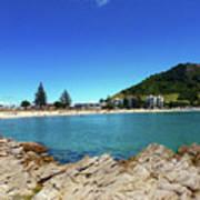 Mt Maunganui Beach 9 - Tauranga New Zealand Art Print