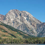 Mt Moran At The Grand Tetons Art Print