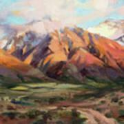 Mt Nebo Range Art Print