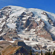Mt. Rainier In The Fall Art Print