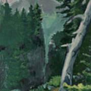 Mt Ranier Art Print