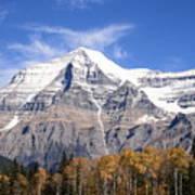 Mt. Robson- Canada's Tallest Peak Art Print