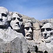 Mt Rushmore Art Print