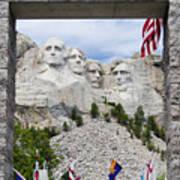 Mt Rushmore Entrance Art Print