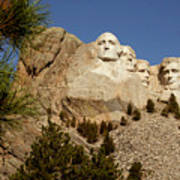 Mt Rushmore II Art Print