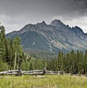 Mt Sneffels In The Colorado Rocky Mountains Art Print