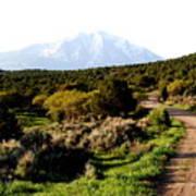 Mt. Sopris - A Colorado Landscape Art Print