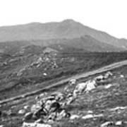 Mt Tam From The Tiburon Hills 1975 Art Print