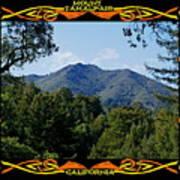Mt Tamalpais Framed 1 Art Print