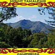 Mt Tamalpais Framed 4 Art Print