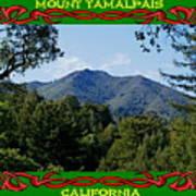 Mt Tamalpais Framed 5 Art Print