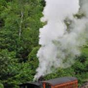 Mt Washington Cog Railroad Art Print