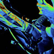 Mtb77#79 Enhanced In Cosmicolors Crop 2 Art Print