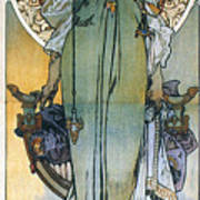 Mucha: Theatrical Poster Art Print