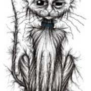 Mucky Cat Art Print