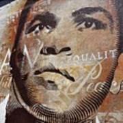 Muhammad Ali Mural Art Print