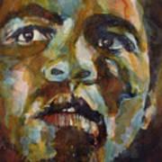 Muhammad Ali   Art Print by Paul Lovering