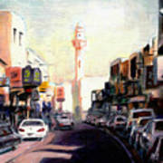 Muharraq Souq 1 Art Print