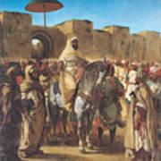 Muley Abd Ar Rhaman  Art Print