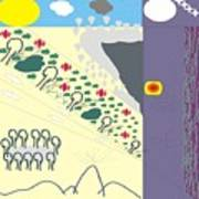 Multiple Landscape Art Print