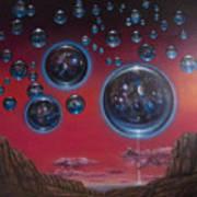 Multiverse 6 Art Print