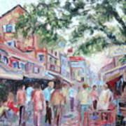 Mumbai Market Art Print