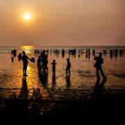 Mumbai Sunset Art Print