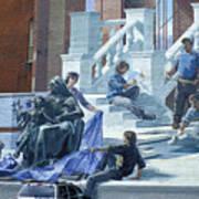 Mural In Philadelphia Art Print
