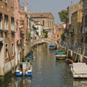 Murano Canal 4329 Art Print