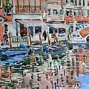 Murano Canal Art Print