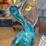 Murano Glass Pelican Art Print