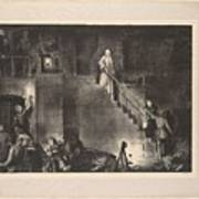 Murder Of Edith Cavell, First State By George Bellows 1882-1925 Art Print