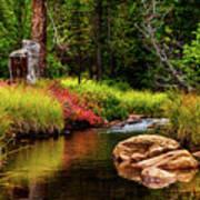 Murdock Basin Autumn Art Print