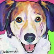 Murphy Art Print by Pat Saunders-White