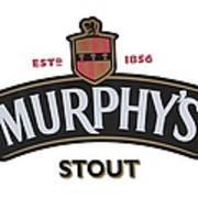 Murphys Irish Stout Art Print